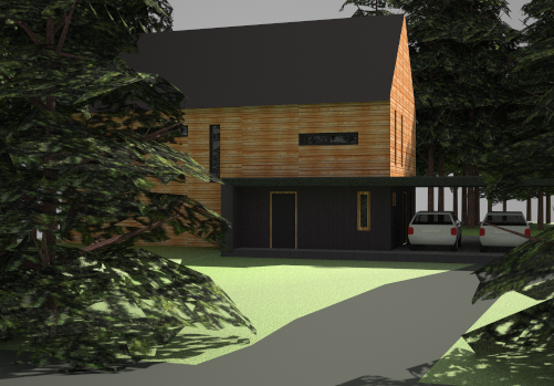 Passive House Northwest View