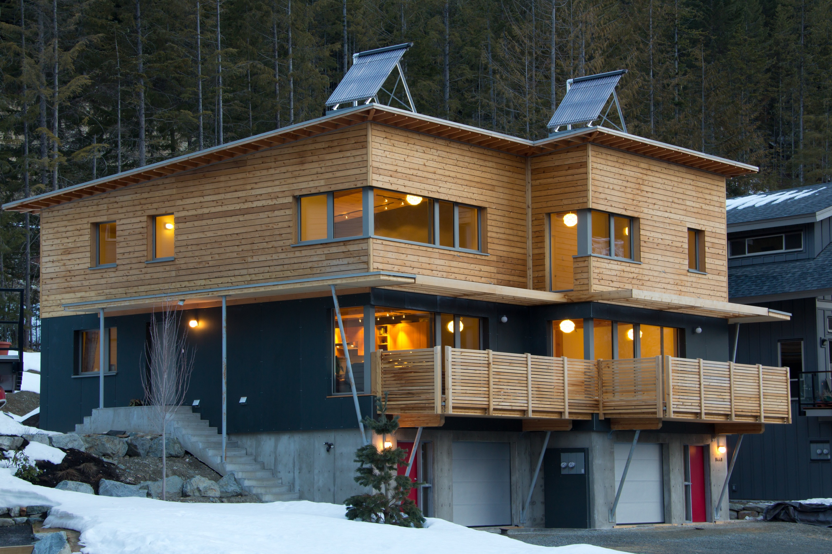 rainbow passive house a success with the public passivehouse whistler passive green. Black Bedroom Furniture Sets. Home Design Ideas