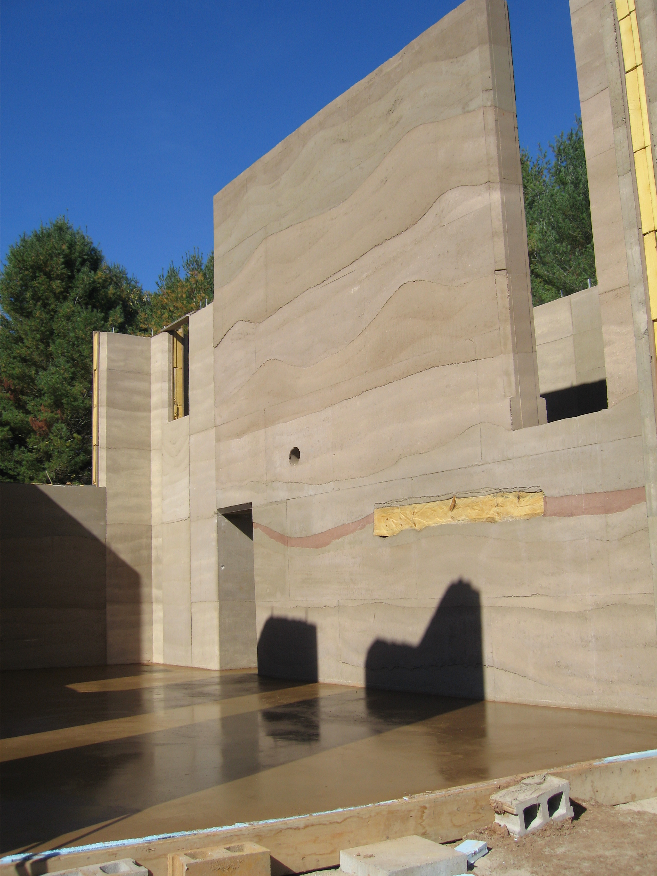 Rammed Earth Passive House And Zero Energy Projects
