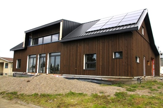 Fort St. John Passive House - Marken Projects Design Studio