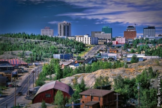 Yellowknife NW Territories - At the Edge of the Arctic