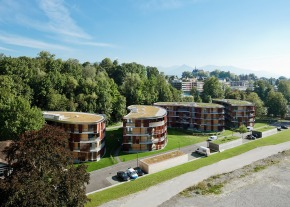 Energy Efficient Multi Family Living Austria - Credit Rhomberg Bay