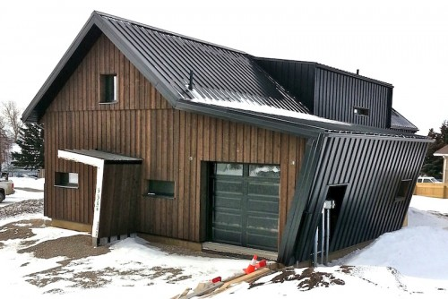 Fort St. John Passive House, BC, Canada - from north east