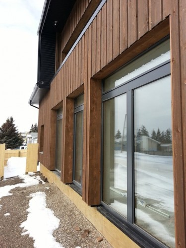 Fort St. John Passive House, BC, Canada - southwall