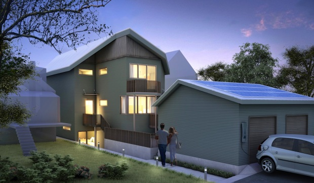 Vancouver Multifamily Passive House Building