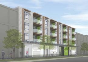 Prefab Multifamily Passive House Building Vancouver